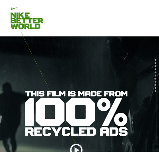 Nike Better World Website