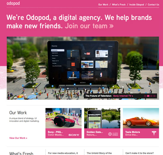 Odopod Digital Agency
