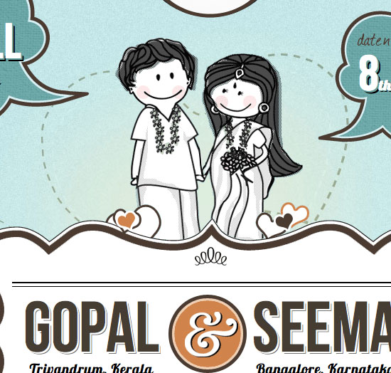 Gopal & Seema Wedding Invitation