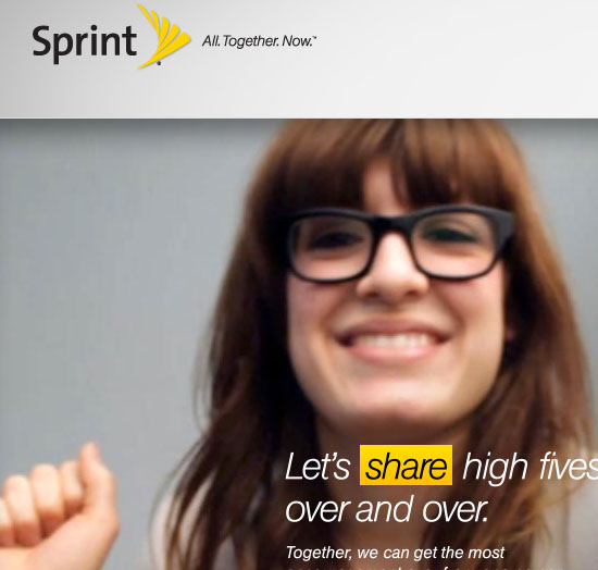 Sprint- All. Together. Now.