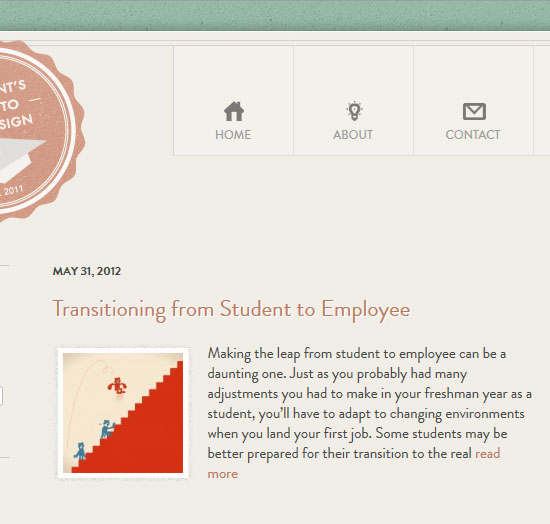 student guide webdesign