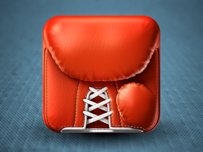 Boxing Glove iPhone Icon