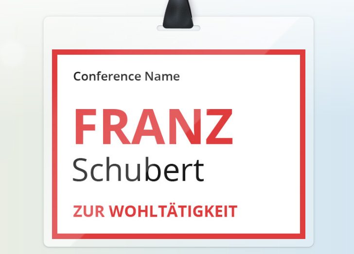 Conference-Badge