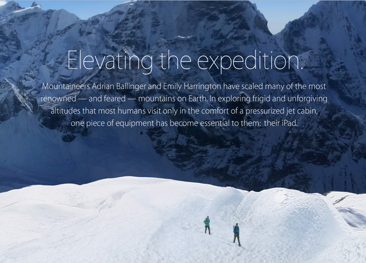 Elevating the expedition