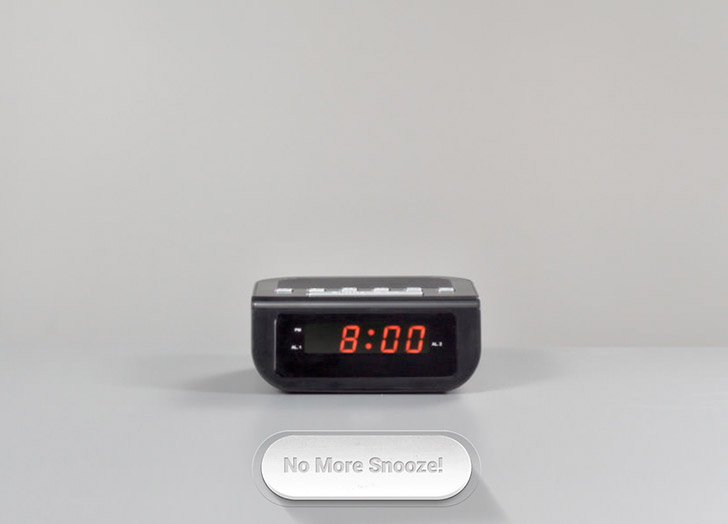 No More Snooze