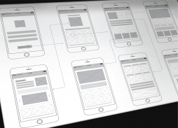 שרטוט דירה  Wireframes VS